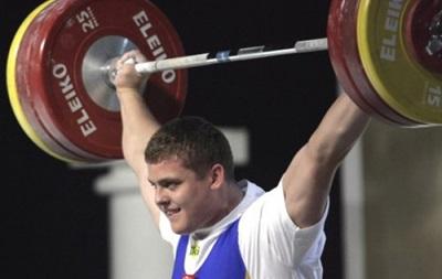 Украинец Шимечко завоевал бронзовую медаль на чемпионате Европы по тяжелой атлетике