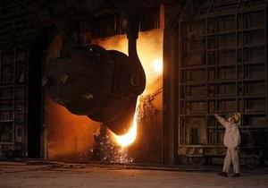 Украина в апреле стала лидером по темпам снижения производства стали