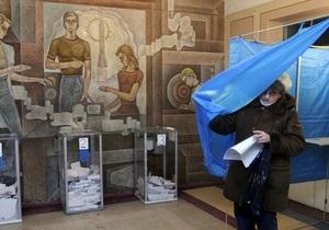 ЦИК обнародовал официальные результаты первого тура выборов (обновлено)