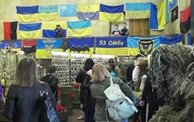 В Украине открыли первую выставку шевронов