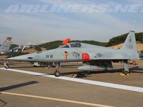 В Южной Корее столкнулись два истребителя