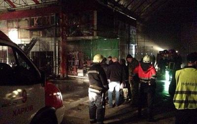 Ночью в Харькове горел рынок Барабашово