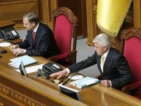 Литвин надеется, что завтра регионалы не заблокируют Раду