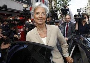 Кристин Лагард официально выдвинула свою кандидатуру на пост главы МВФ