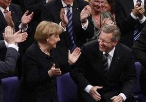 Премьер Нижней Саксонии Кристиан Вульф избран президентом Германии