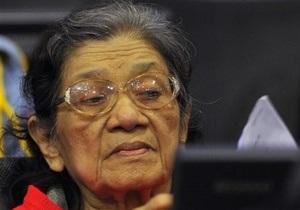 Суд над лидерами красных кхмеров: у одной из обвиняемых обнаружили слабоумие