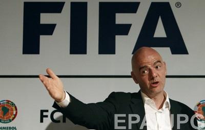 Президент ФИФА обсудит с Путиным подготовку к ЧМ-2018