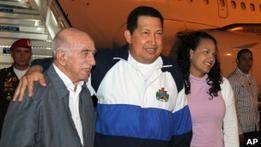 Уго Чавес позвонил на ТВ и опроверг слухи о своей смерти