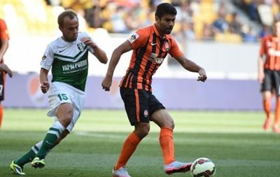 Шахтер не смог переиграть Александрию в первом матче Кубка