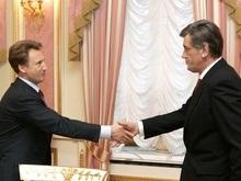 Ющенко встретился с Киваловым