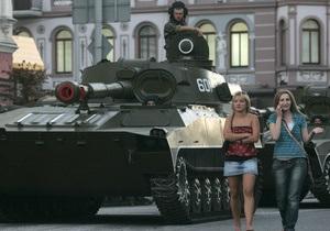 Сегодня перекроют центр Киева в связи с репетицией парада ко Дню Победы