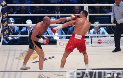Билеты на реванш Кличко - Фьюри поступят в продажу в конце апреля