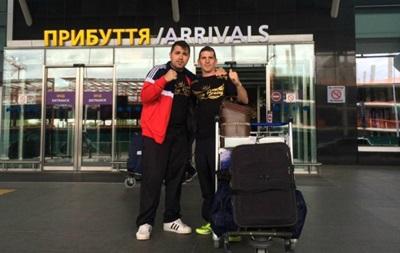 Соперник Беринчика Гарсия прибыл в Украину
