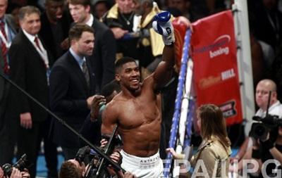 Джошуа проведет первую защиту титула чемпиона мира 25 июня
