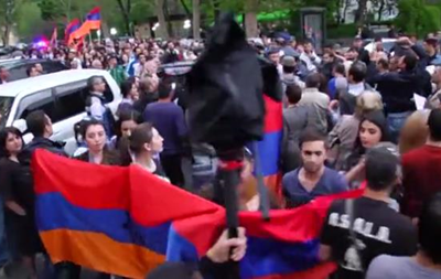 В Ереване протестовали против визита Лаврова