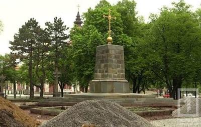 В Кривом Роге под памятником Ленину нашли старинный храм