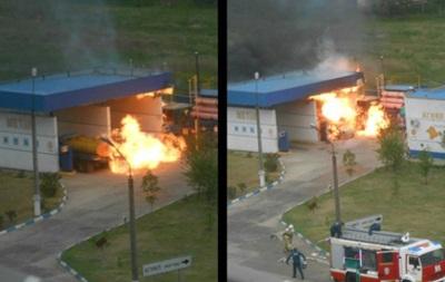 В Крыму произошел взрыв на АЗС: трое погибших