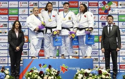 Збірна України з дзюдо зуміла завоювати одну медаль на чемпіонаті Європи
