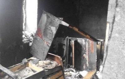 В Новомосковске два человека погибли в пожаре