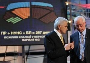 Коалициада: В НУ-НС заявили, что Литвин  не соскочит , пока не увидит 37 подписей нардепов