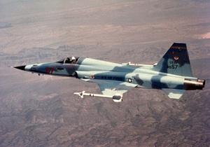 В Южной Корее потерпел крушение истребитель F-5