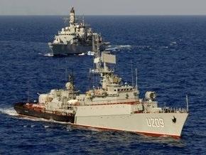Украинский корвет Тернопіль принимает участие в антитеррористической операции НАТО