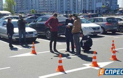 В Киеве на парковке произошла стрельба