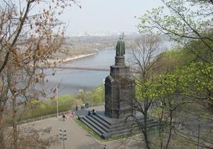 В Киеве на Владимирской горке откроют выставку-ярмарку