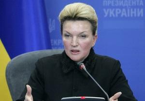 Янукович поздравил Богатыреву с днем рождения