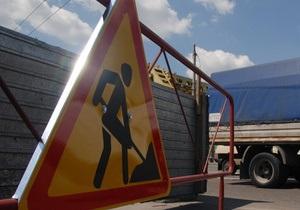 Возле моста Патона в Киеве начали строить новую развязку