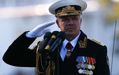 РФ: Командующий ЧФ не получал уведомлений из Киева