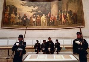 Сегодня американцам покажут оригинал подписанной Линкольном Прокламации об освобождении рабов