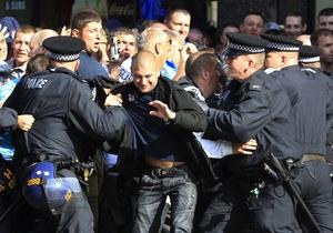 В Лондоне полиция разогнала демонстрацию ультраправых