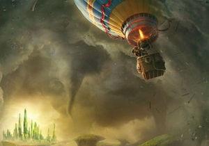 Опубликован первый постер к фильму Оз: Великий и ужасный