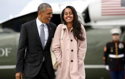 Старшая дочь Обамы пойдет учиться в Гарвард