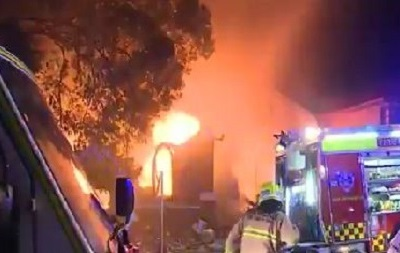 В Сиднее сгорела православная церковь