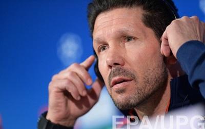 Главный тренер Атлетико: Завтра мы увидим, насколько сильна Бавария