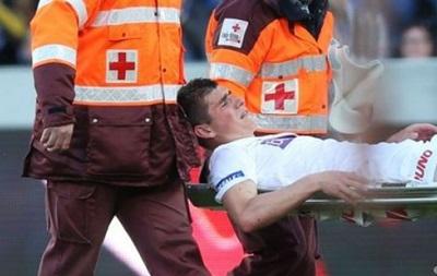 Малиновский порвал связки колена и не поможет Украине на Евро-2016