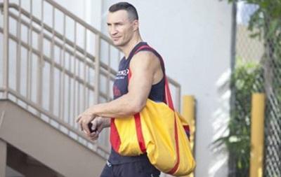 Владимир Кличко приступил к подготовке к реваншу с Фьюри