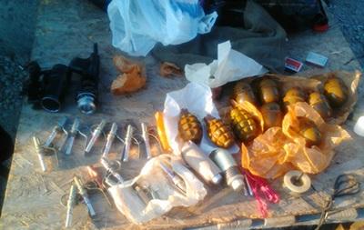 В автобусе из зоны АТО нашли гранатомет и боеприпасы