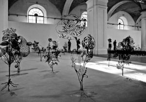 В Мистецьком арсенале открылся Большой скульптурный салон