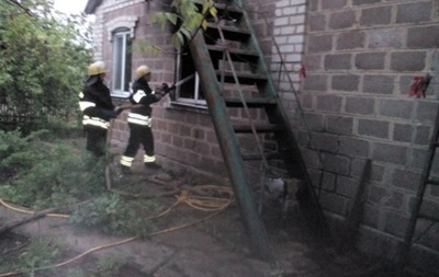 В Донецкой области в пожаре погибли два человека