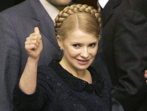 Тимошенко не удовлетворена работой Нафтогаза