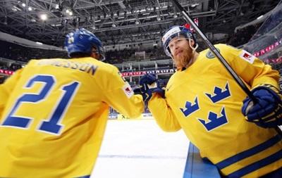 ЧМ по хоккею: Швеция обыграла Латвию в овертайме