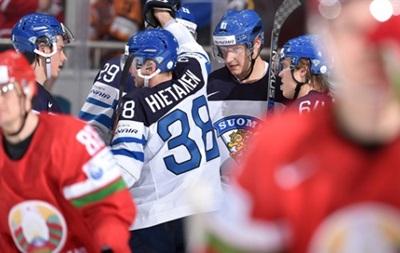 ЧМ по хоккею: Финляндия уверенно побеждает Беларусь