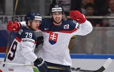 Словакия легко расправилась с Венгрией на чемпионате мира по хоккею