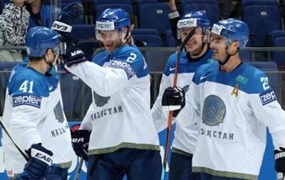 Казахстан сенсационн обыграл Швейцарию на чемпионате мира по хоккею