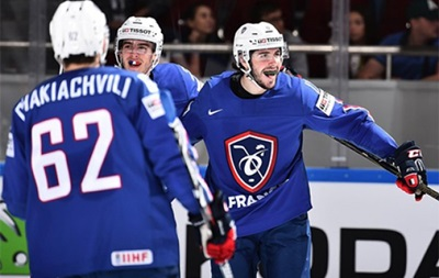 Чемпионат мира по хоккею: Франция в серии буллитов переиграла Германию