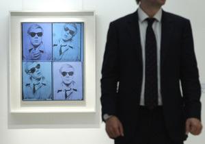 Первый автопортрет Энди Уорхола ушел с молотка за $38 млн