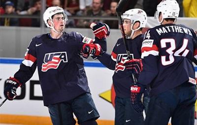 Чемпионат мира по хоккею: США переиграли Беларусь